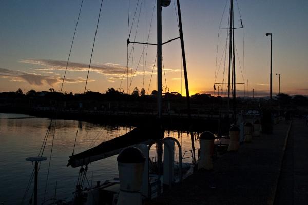 Marina dawn