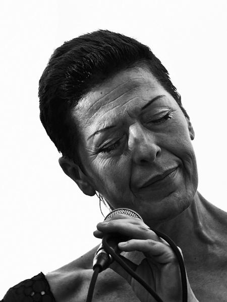 Jazz singer. by Velja