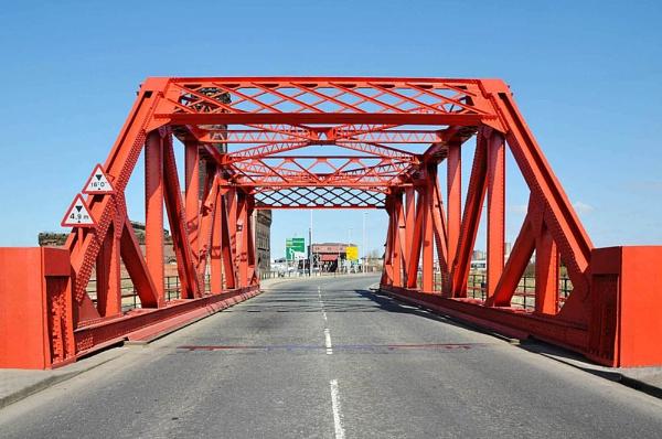 newly painted bridge by Evertonian