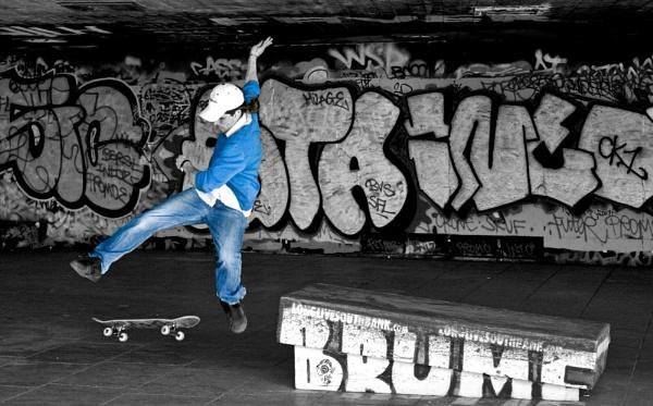 Skateboarder by Earthwatcher
