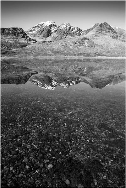 Monochrome Deep... by Scottishlandscapes