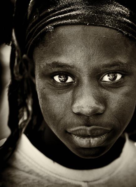 Gambian Villager by stevewlb