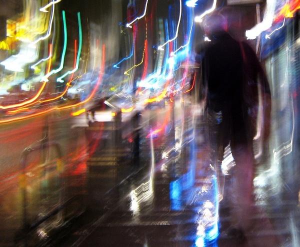 Night Abstract by RysiekJan