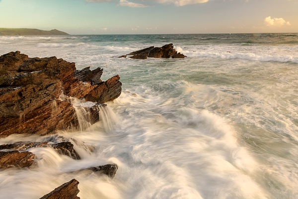 An Evening at Whitsand Bay by andyfox