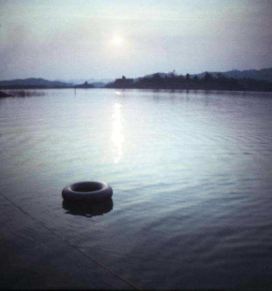Sunset on the Thai=Burmese border by lefolle
