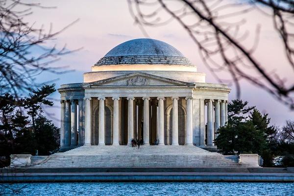Jefferson memorial by guitarman74uk