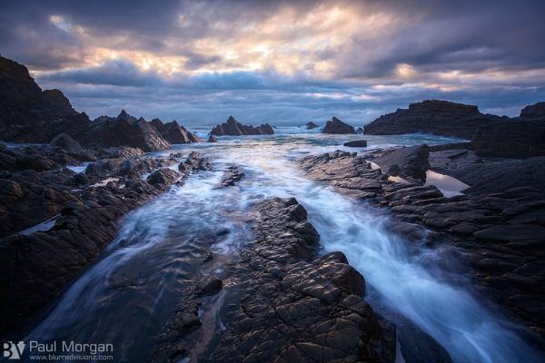 Hartland Rocks by pmorgan