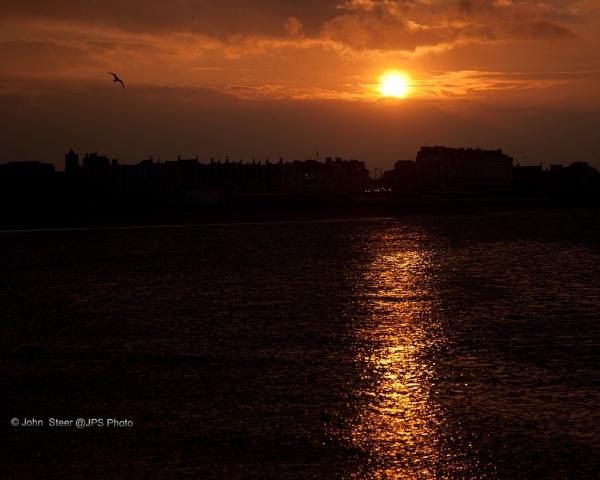 Margate Winter Sunset by SkySkape