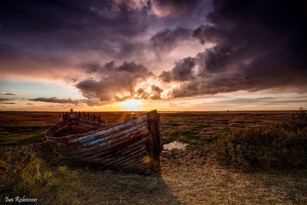 Blakney Sky by ianrobinson