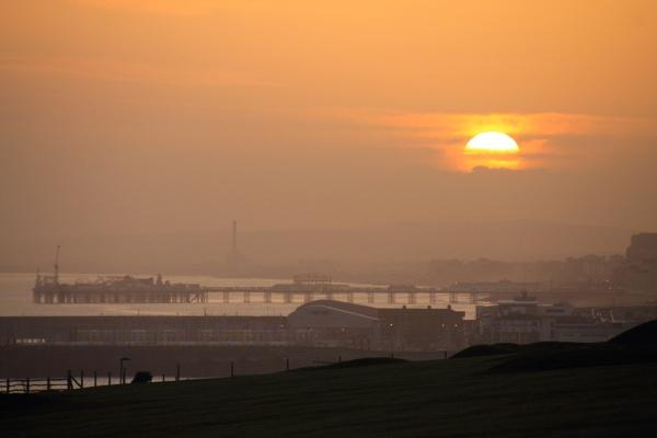 Brighton Spring Sundown by lustrells61