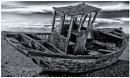 The Blue Wreck B&W version by Nikonuser1