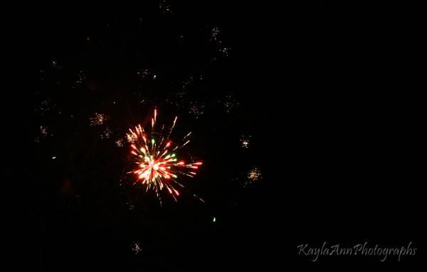 red fireworks by kayla_ann
