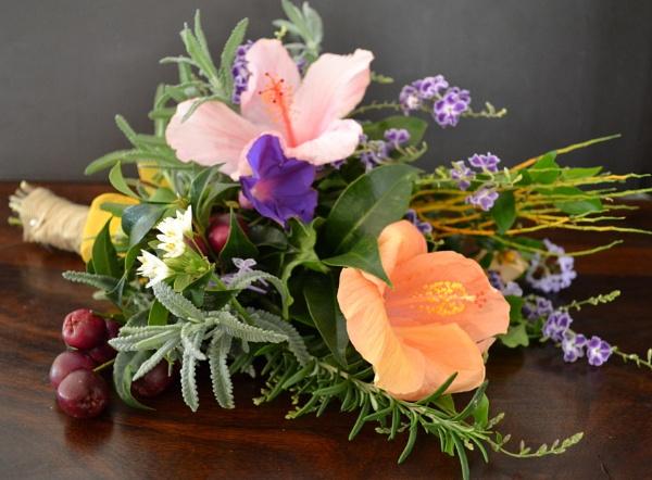 Bouquet from the garden by CLARECUM