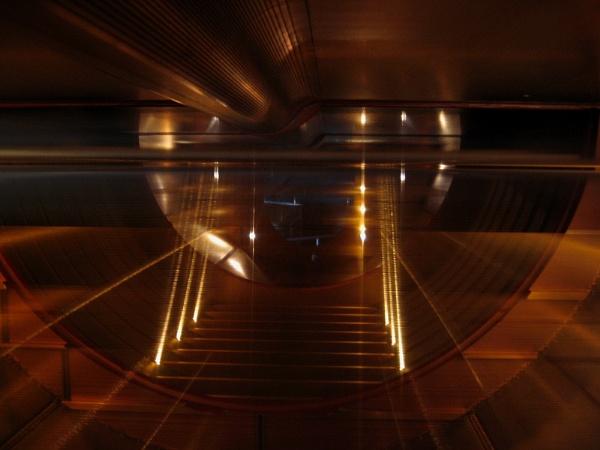 At CERN by Garay
