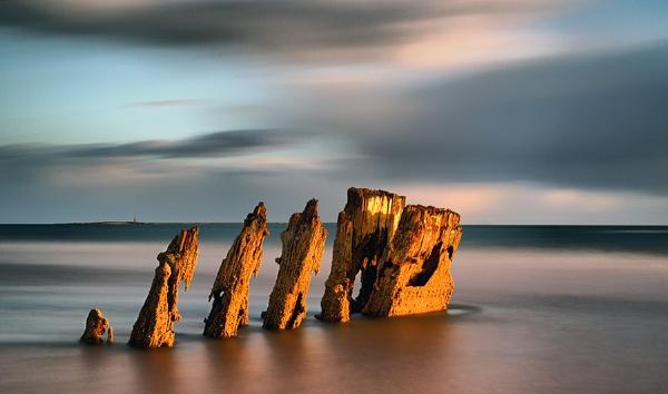Ardrossan Shipwreck by karen61