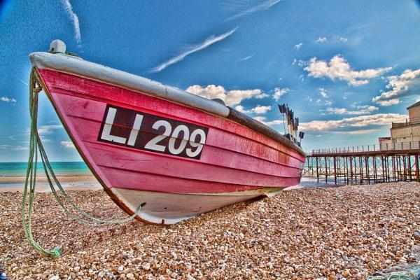 Bognor Crab boat by esoxlucius