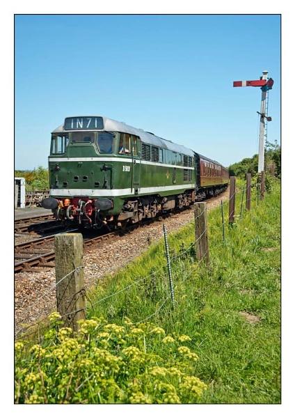 Diesel Loco on the Poppy Railway by GlynH