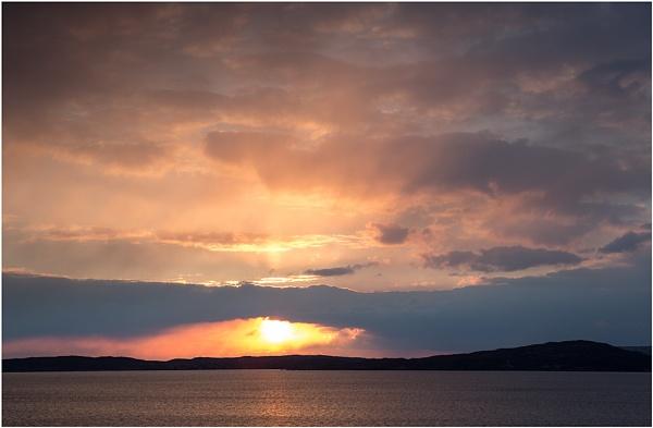 Sunset over Soay... by Scottishlandscapes
