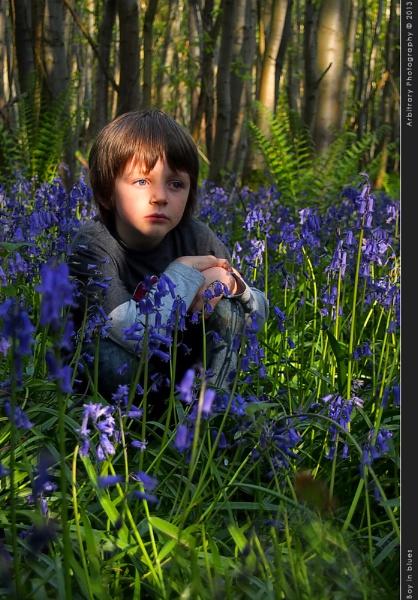 Boy in blues by javam