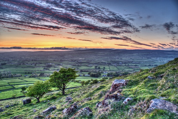 SUNSET FROM SLEMISH by ANIMAGEOFIRELAND