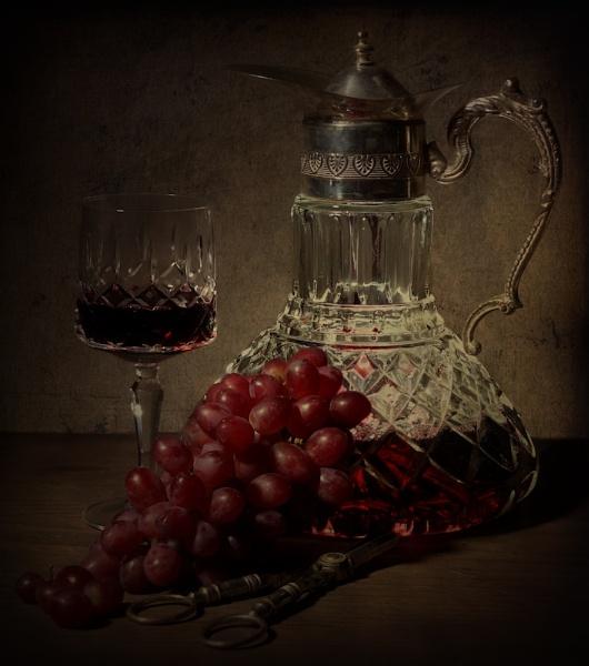 Wine Still Life by cattyal