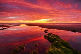 Nairn beach, Scotland.