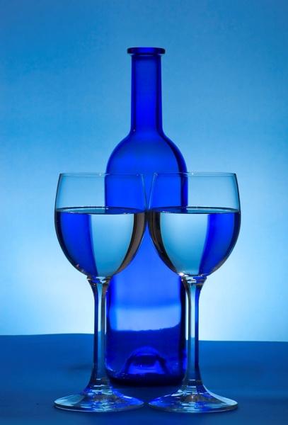 Blue Bottle by john thompson