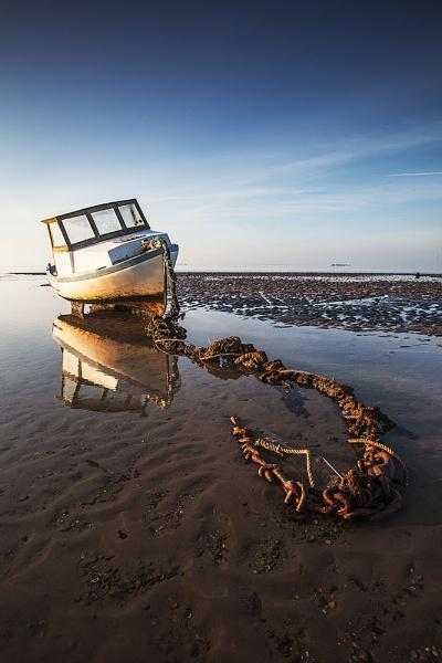 Estuary Reflection. by derekhansen