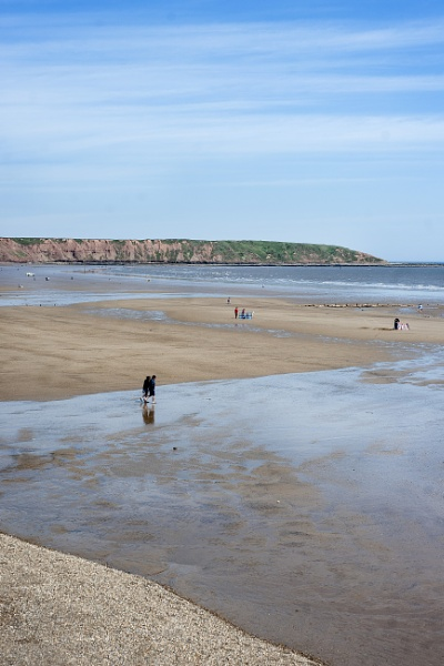 Filey Beach North Yorkshire by Pauldaviddrabble