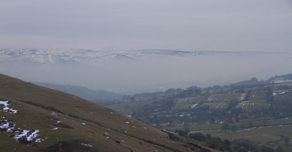 Misty Peaks by guyfromnorfolk