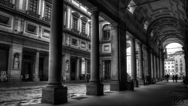 The Portico degli Uffizi by JKS