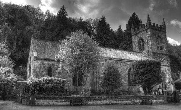 Milton Abbas Church by Cybalist