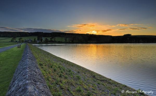 Tunstall Reservoir Sunset by John10