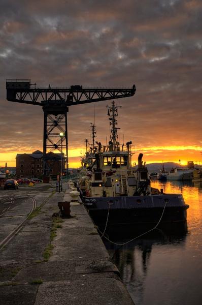 James Watt Dock Marina by JohnnyGraham
