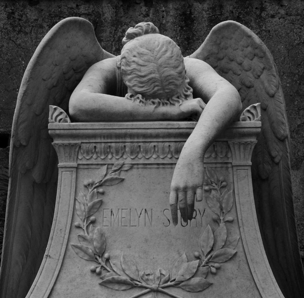 Angel of Grief, Rome by MissPea