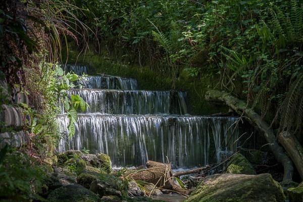 Kentish Waterfall by jonrook