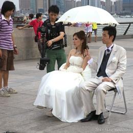 Wedding Shoot, Shanghai style.