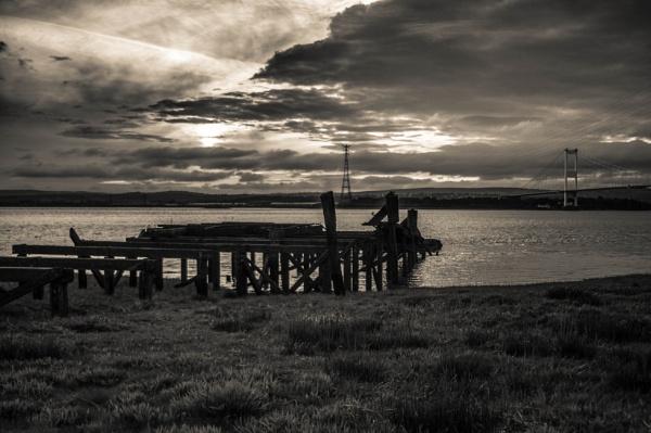 Sunset River Severn by Kilmas