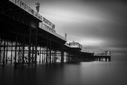 Brighton Pier_BW