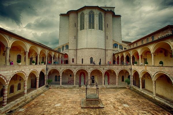 Basilica of San Francesco d\'Assisi by ubaruch