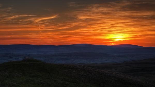 ANTRIM HILLS SUNSET 2 by ANIMAGEOFIRELAND