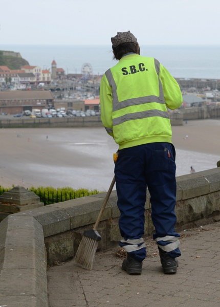 SBC street cleansing operative by nobby2sheds