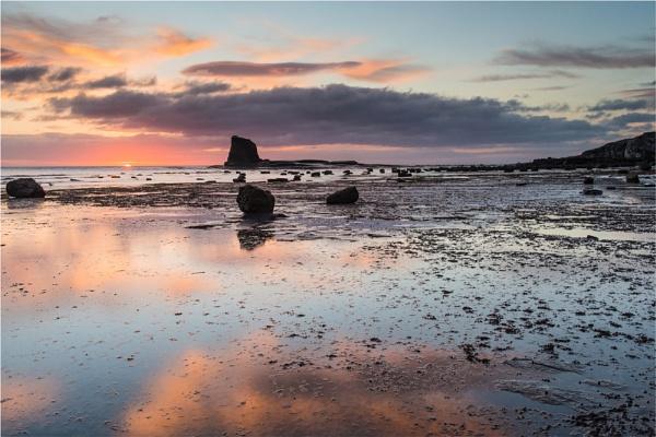 Saltwick Bay , Lunar  Landscape by phil99