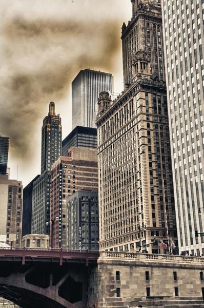 Chicago Skyline by Kwosimodo