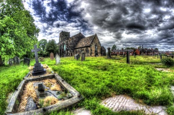 Saint Andrews Church, Leyland by pieaddict
