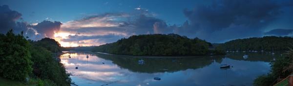 Sunrise at Malpas by BillyGoatGruff