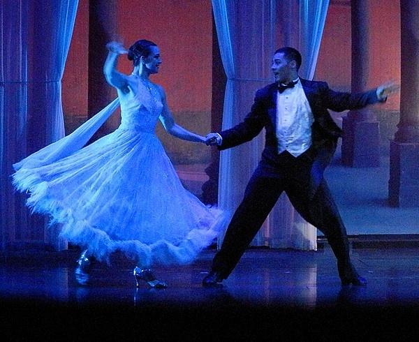 Ballrom Dancers by digitalgirl