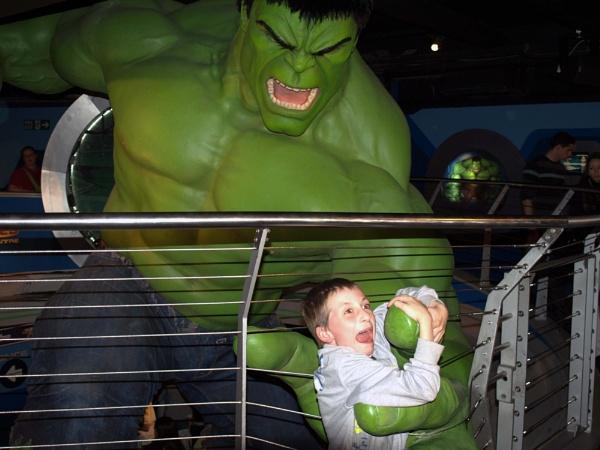 Hulk attack! by DavidInBulgaria