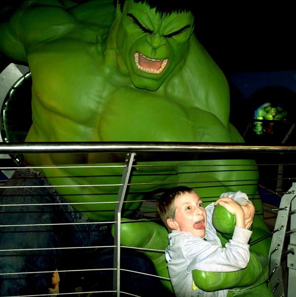 Hulk attack! v 2 by DavidInBulgaria