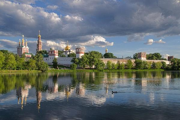 Novodevichy Monastery by Sergey_SG